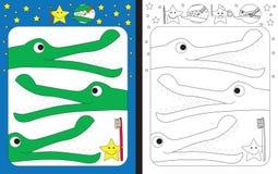 Free Preschool Worksheet Stock Images - 98099744