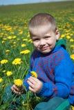 Preschooler έξω Στοκ Φωτογραφίες