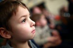 Preschooler в театре Стоковое Изображение