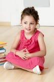 preschooler книги стоковое фото rf