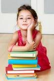 preschooler книги стоковое фото