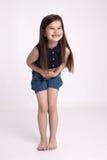 Preschooler маленькой девочки стоковое изображение rf