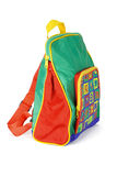 Preschooler backpack Royalty Free Stock Image