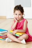 Preschooler with book Stock Photos