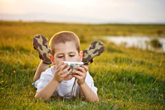 Preschooler boy Stock Photography