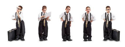 Preschooler boy Stock Image