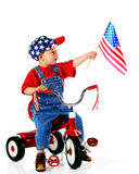Preschooler Displaying Colors Royalty Free Stock Images
