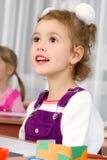 Preschooler girl Royalty Free Stock Images