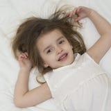 Preschooler girl Stock Photo
