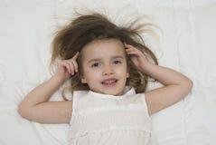 Preschooler girl Royalty Free Stock Photos