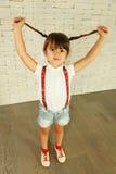 Preschooler girl Stock Photos