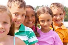 preschoolers Royaltyfri Fotografi