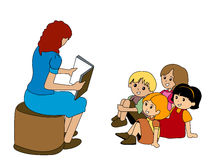 Preschoolers Royalty Free Stock Images