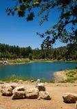 Prescott湖夏天 库存图片