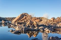 Prescott Arizona de lac watson Image libre de droits