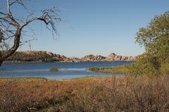 Prescott Arizona del lago watson Immagini Stock Libere da Diritti