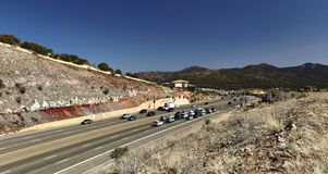 Prescott Arizona Highway 69 Stock Photography