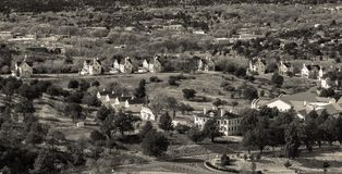 Prescott Arizona Military Homes Forming een Cirkel royalty-vrije stock foto