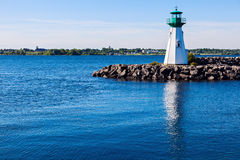 Prescott Heritage Harbour Lighthouse Royalty Free Stock Photos