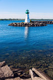 Prescott Heritage Harbour Lighthouse Royalty Free Stock Photo