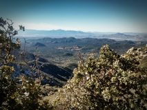 Prescott Mountains. Beautiful Mountains near Prescott, Arizona Stock Photography