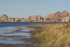 Prescott o Arizona do lago Watson Foto de Stock