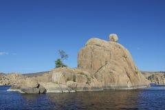 prescott watson озера Аризоны Стоковые Изображения RF