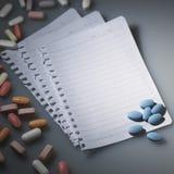 Prescrição Imagem de Stock