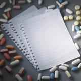 Prescrição Fotografia de Stock