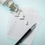 Prescrição Fotos de Stock