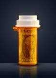 Prescrição para o dinheiro Imagens de Stock Royalty Free