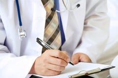 Prescribing medication royalty free stock image