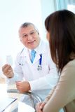 Prescribing vitamins Royalty Free Stock Images
