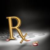 Prescrição Fotografia de Stock Royalty Free
