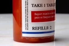 Prescripción de la droga Imágenes de archivo libres de regalías