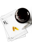 Prescription Stock Image