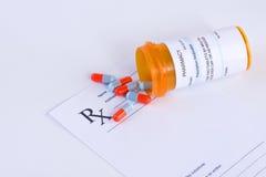 Prescription Stock Image