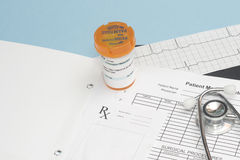 Prescription Royalty Free Stock Images
