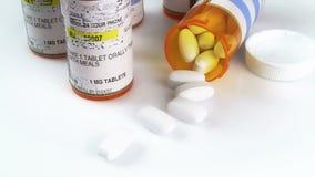 Prescription Bottle & Pills Royalty Free Stock Image