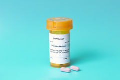 Prescription Bottle Royalty Free Stock Photo