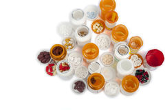 Prescription bottles royalty free stock image