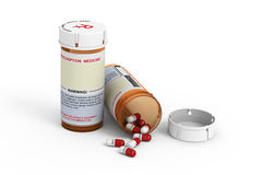 Prescription Bottles Stock Photos