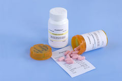 Prescription Cost Royalty Free Stock Photo