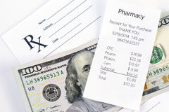 Prescription Cost Royalty Free Stock Photos