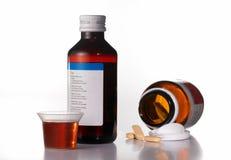 Prescription de médecine Photo libre de droits