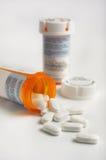 Prescription de médecine Photo stock