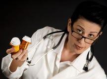Prescription del dottore Fotografie Stock
