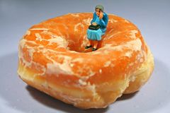 Prescription donut hole gap Stock Images