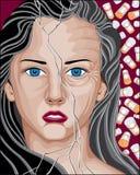 Prescription Drug Addicted Woman Royalty Free Stock Image