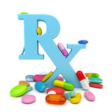 Prescription drugs Royalty Free Stock Images